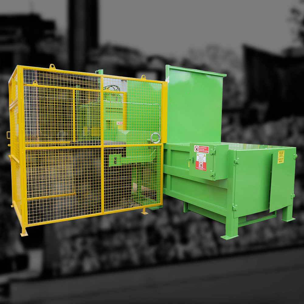 Static Compactors | Recycling Balers