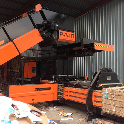 Horizontal Balers | Recycling Balers