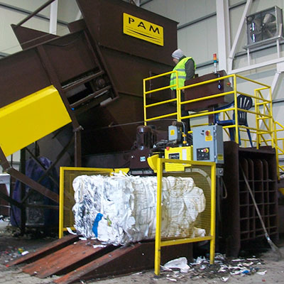 Full Auto Horizontal Balers | Recycling Balers